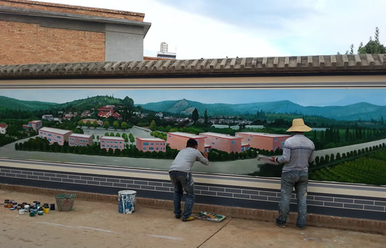 墙体绘画有什么优点?为您详解墙绘的优点