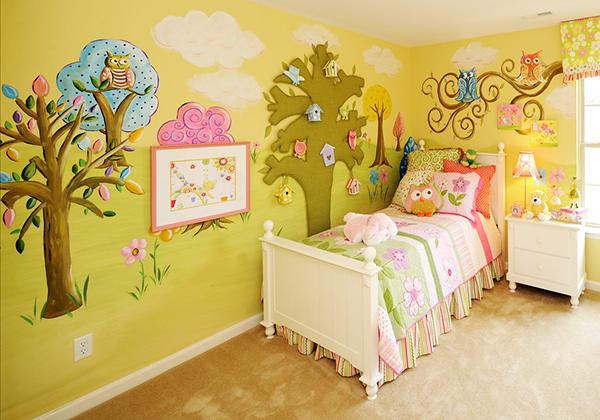 纯艺术装修装饰——墙体彩绘
