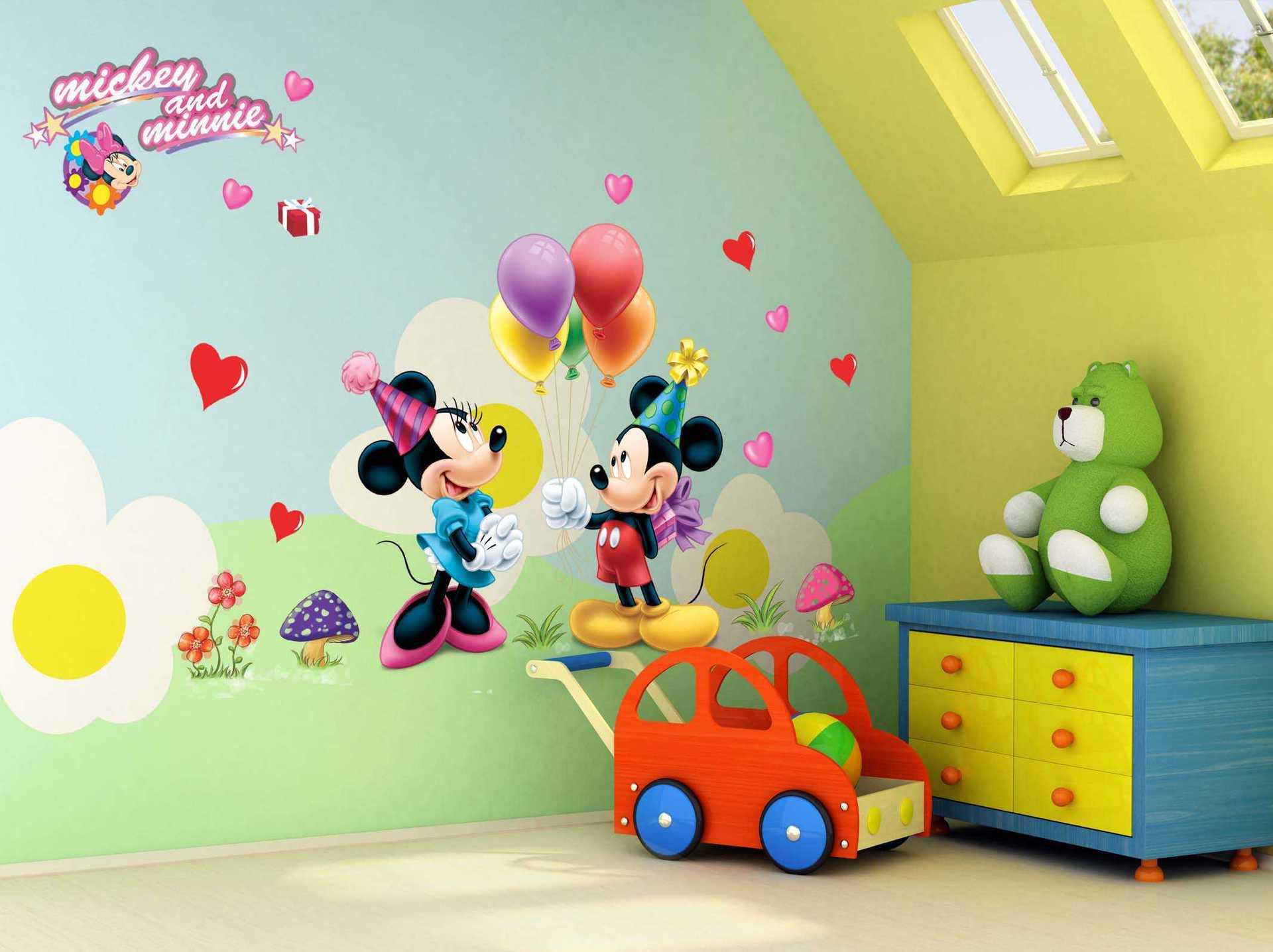 儿童房墙绘的要求