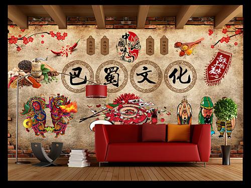餐厅墙面绘画