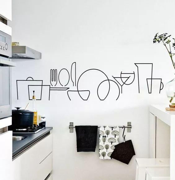 装修我们是选择手绘墙还是选择壁纸好