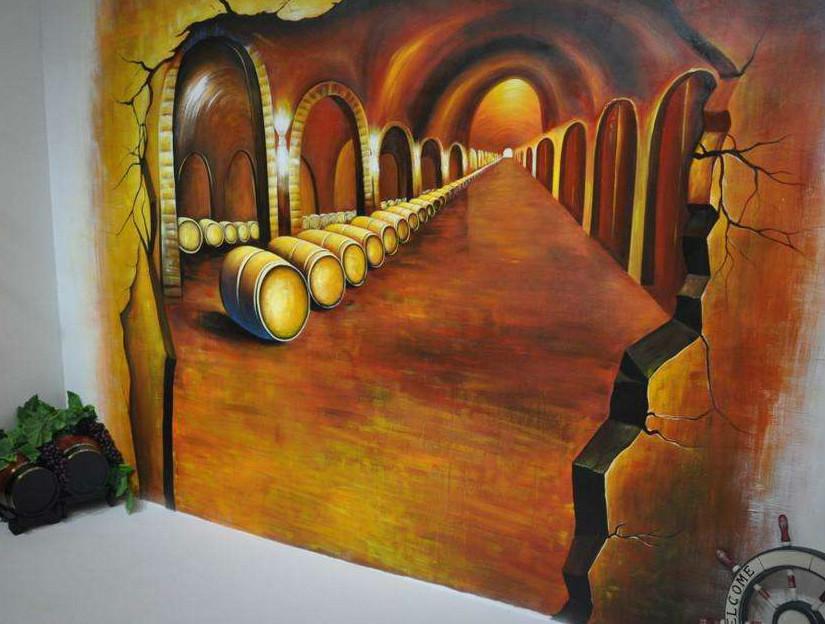 墙绘在全国不断的兴起