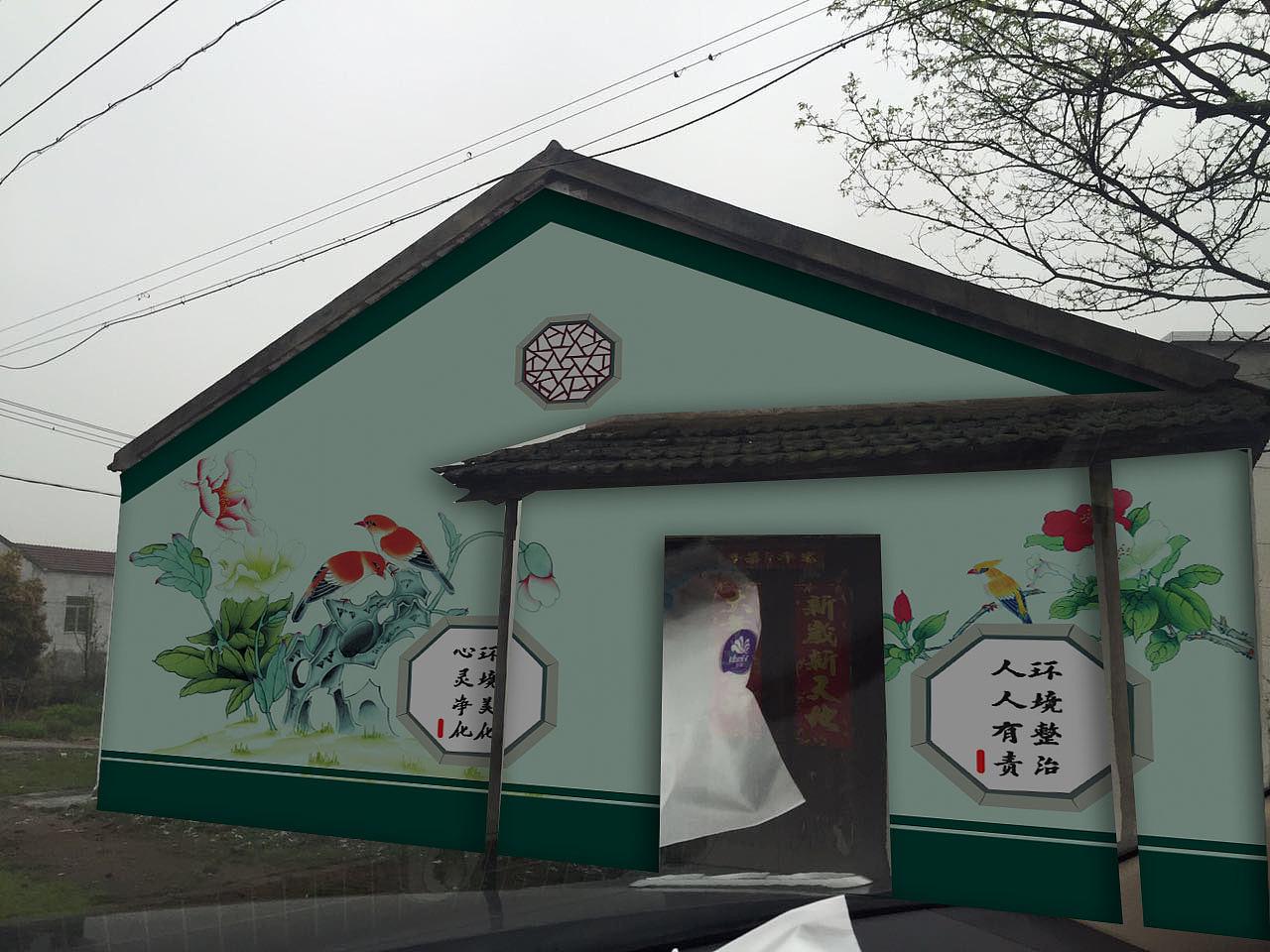 南昌古建彩绘,南昌幼儿园手绘墙画,南昌幼儿园手绘墙