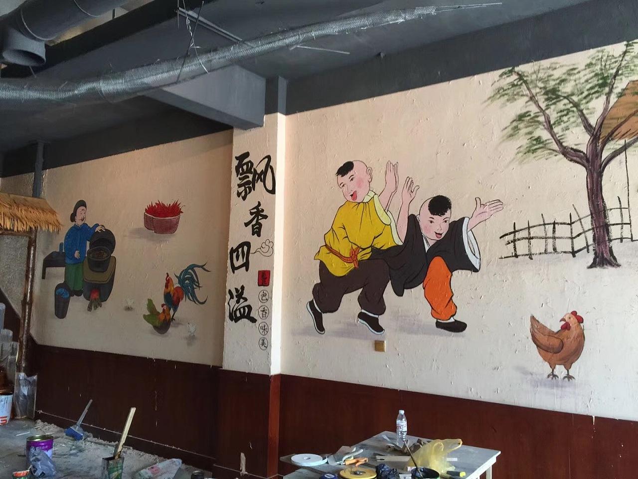 南昌墙画手绘,南昌墙壁涂鸦,南昌涂鸦墙壁,南昌3d绘画,南昌墙体喷绘