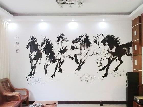 南昌墙壁绘画,南昌墙绘网,南昌喷画公司,南昌喷画,南昌手绘古建