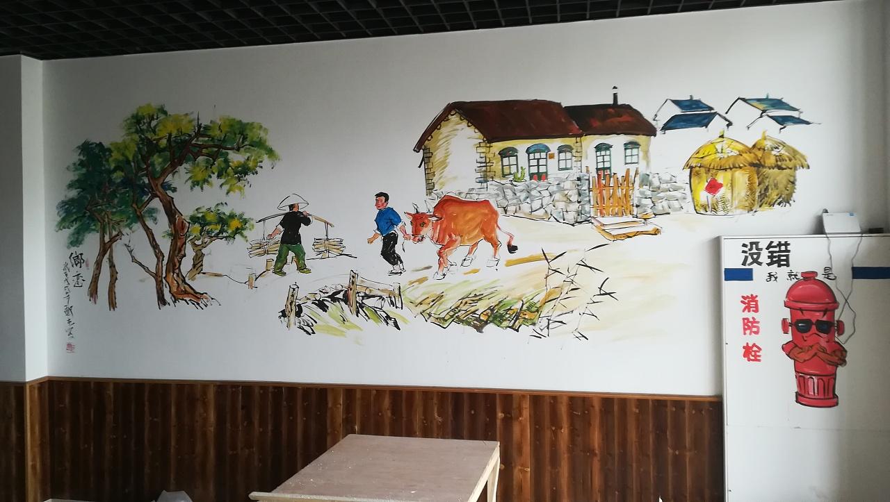 南昌墙壁上画画,南昌墙体彩绘墙绘,南昌手绘涂鸦墙,南昌手绘墙画