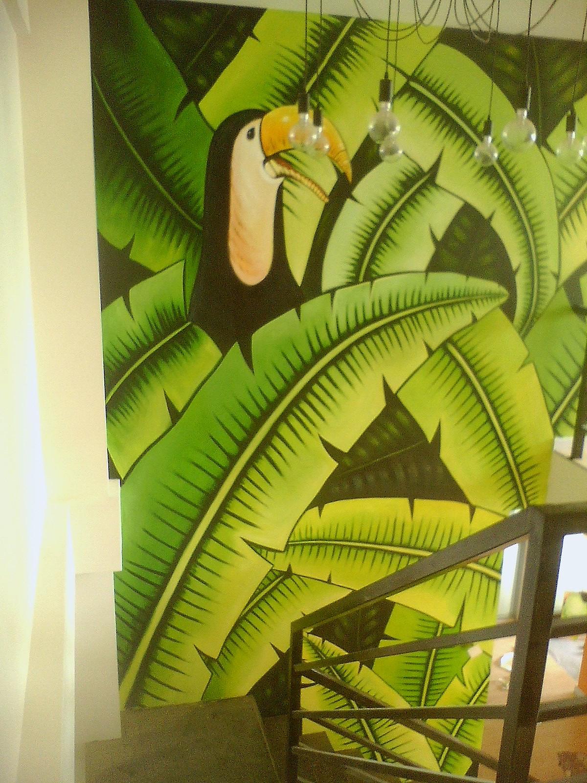 南昌艺术墙绘,南昌画背景墙,南昌手绘墙体绘画,南昌墙体绘画手绘