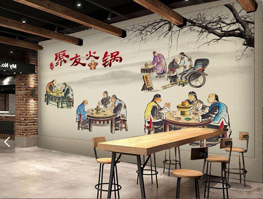 南昌餐馆墙体彩绘,南昌外墙绘画,南昌手绘墙壁画,南昌墙绘幼儿园