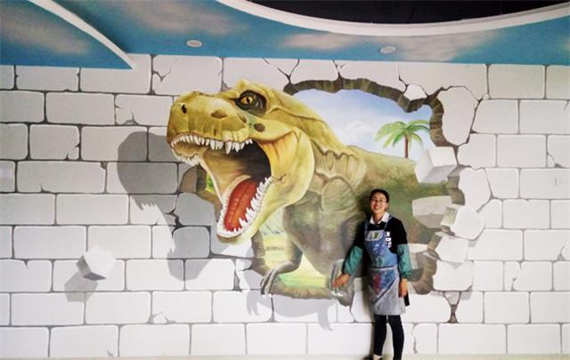 南昌3d彩绘,南昌墙手绘,南昌墙壁手绘,南昌乡村文化墙彩绘