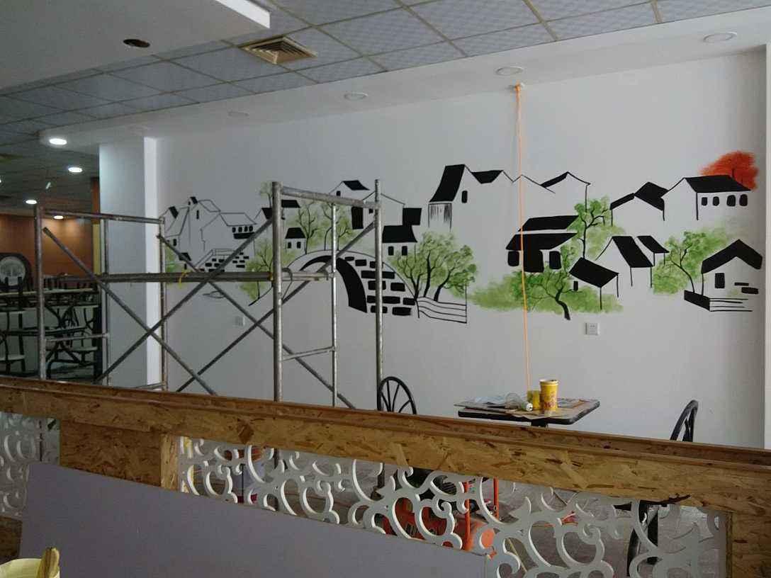 墙体彩绘需要注意哪些事项呢?